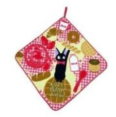 魔女の宅急便☆黒猫ジジのループ付きタオル/ブレークファースト