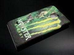 GALAXY S5手帳型レザーケース◆MONSTERモンスターエナジー最新柄