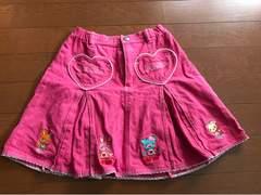 メゾピアノ スカート 女の子 キッズ ブランド 120