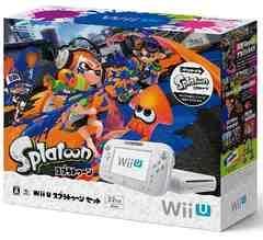 即決 Wii U スプラトゥーンセット 送料無料
