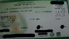 3/25高田馬場85〜95番 GOTCHAROCKA/The THIRTEEN/FEST〜/mitsu