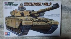 タミヤ1/35  イギリス陸軍主力戦車デザートチャレンジャー(Mk.3)