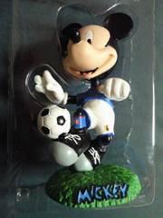 サッカー 日本代表 ユニフォーム ユニホーム コラボ デザイン ミッキーマウス フィギュア