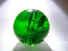 天然石 AAAAAクロムダイオプサイト 約10�o玉 P058