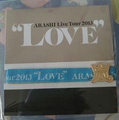 嵐*LOVE*会場限定リボンブレス[大野智/青/福岡]2013