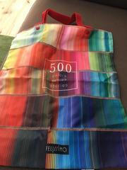 フェリシモ 500色の色鉛筆エコバック*。゜