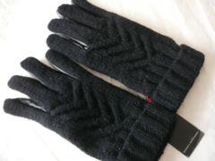 GEORGES RECH ジョルジュ・レッシュオム皮+ニット手袋
