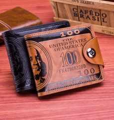 メンズ 二つ折り財布ウォレット