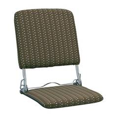 折りたたみ座椅子 ブラウン YS-424_BR