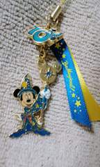 TDS/10周年BeMagical!ミッキーマウスストラップ
