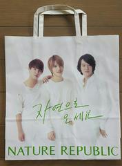 【JYJ★ショップ袋】#韓国#NATURE REPUBLIC#コスメ#ショップ袋