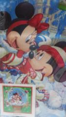 トウキョウディズニーランド クリスマスファンタジー2009 ハンカチ 未使用未開封