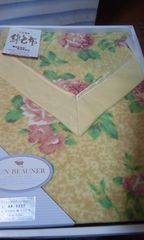 新品 素敵な綿毛布  140×200