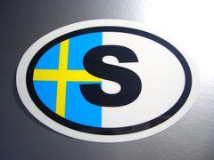 c1スウェーデンビークルID国識別ステッカー/国旗 VOLVOボルボ