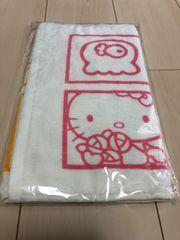 新品未開封  キティーちゃんのフェイスタオル   76×34cm