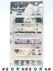 【センチメンタルサーカス】可愛い♪日本製 5柄10枚 絆創膏ばんそうこう