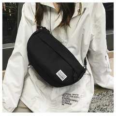 【ブラック】 メッセンジャーバッグ 斜め掛け キャンバス 帆布