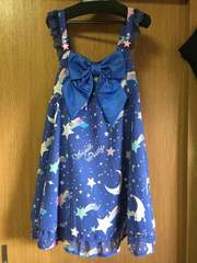 Angelic Pretty dream sky JSK 再販 アオ 美品
