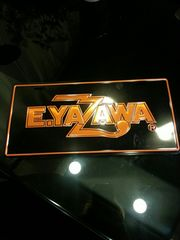E.YAZAWAナンバープレート
