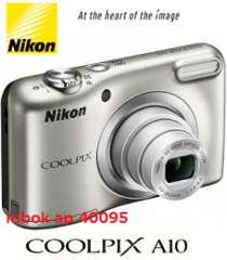 送料無料 最新型 ニコンA10SL 手ぶれ補正、顔認識、HD動画