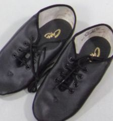 ダンス用カペジオ ジャズブーツ チア黒サイズ3W(20.2