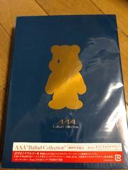 AAA  Ballad Collection  初回生産限定 2CDオリジナルダイアリー