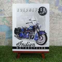 新品【ブリキ看板】Indian/インディアン Roadmaster 1951年