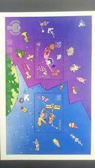 国際児童年50円切手2枚ミニシート新品未使用品