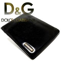 極レア 1スタ★ドルガバ D&G【イタリア製】牛革 二つ折り財布