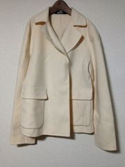 ダナキャラン/DKNY/ウールホワイトジャケット