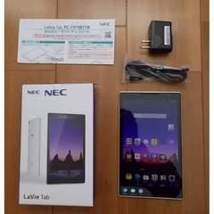 美品NEC★SIMフリーLaVieTab PC-TS708T1W 16GB