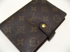 ルイ・ヴィトン.モノグラム.6穴式.手帳カバーアジェンタ.世界最高贅沢アイテム極美品