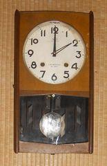 CROWN FAN機械式ぜんまい振り子時計21日巻き動きます