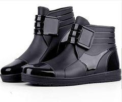 メンズ レインブーツ レインシューズ  雨靴 24.5cm〜27cm/AK377
