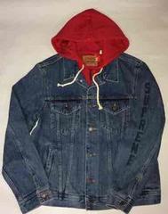 Supreme Levi's Fleece Hood Trucker Jacket インディゴM新品