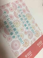 札幌☆モエレ沼芸術花火2017☆特別入場券2枚