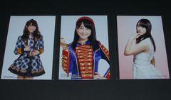 AKB48 通常盤CD封入生写真 3枚セット 松井玲奈