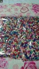 5�o丸ポコ約1000粒カラーmix