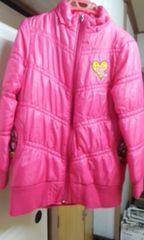 ピンクのジャンパー(150)