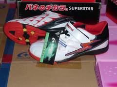 サッカーMoonStar白19.0Cm2Eスーパースターバネ639kマ