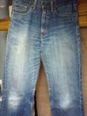 リーバイス502色落ち膝たたきジーンズ
