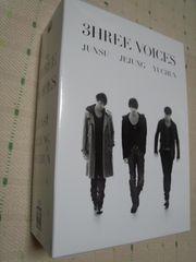 JYJ 3HREE VOICES 初回限定DVD4枚組