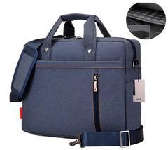 手さげバッグ 防水・防圧・高性能ブリーフケース ブルー
