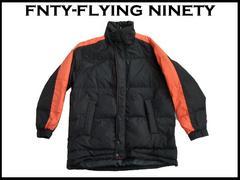 新 FNTY フード付 ダウンジャケット 黒色  XL