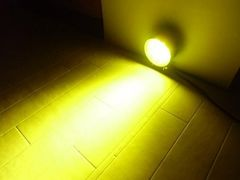 12V24V兼用/2個セット!27W-黄色LEDワークライト 作業灯 投光器