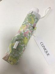 新品 クリニーク 晴雨兼用折り畳み傘 花柄