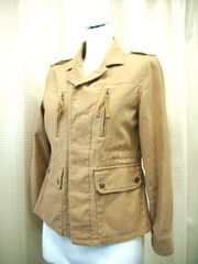 【earthmusic&ecology】【未使用品】ベージュのジャケットです