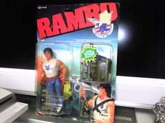 1985年『RAMBOランボー』ビンテージフィギュア 当時物 パッケージ痛み