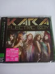 KARA 新品未開封 エレクトリックボーイ 初回限定CD+DVD