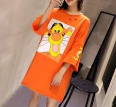 大きいサイズ☆キャラクターTシャツ F〜